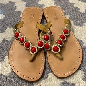 Mystique Coral Sandals